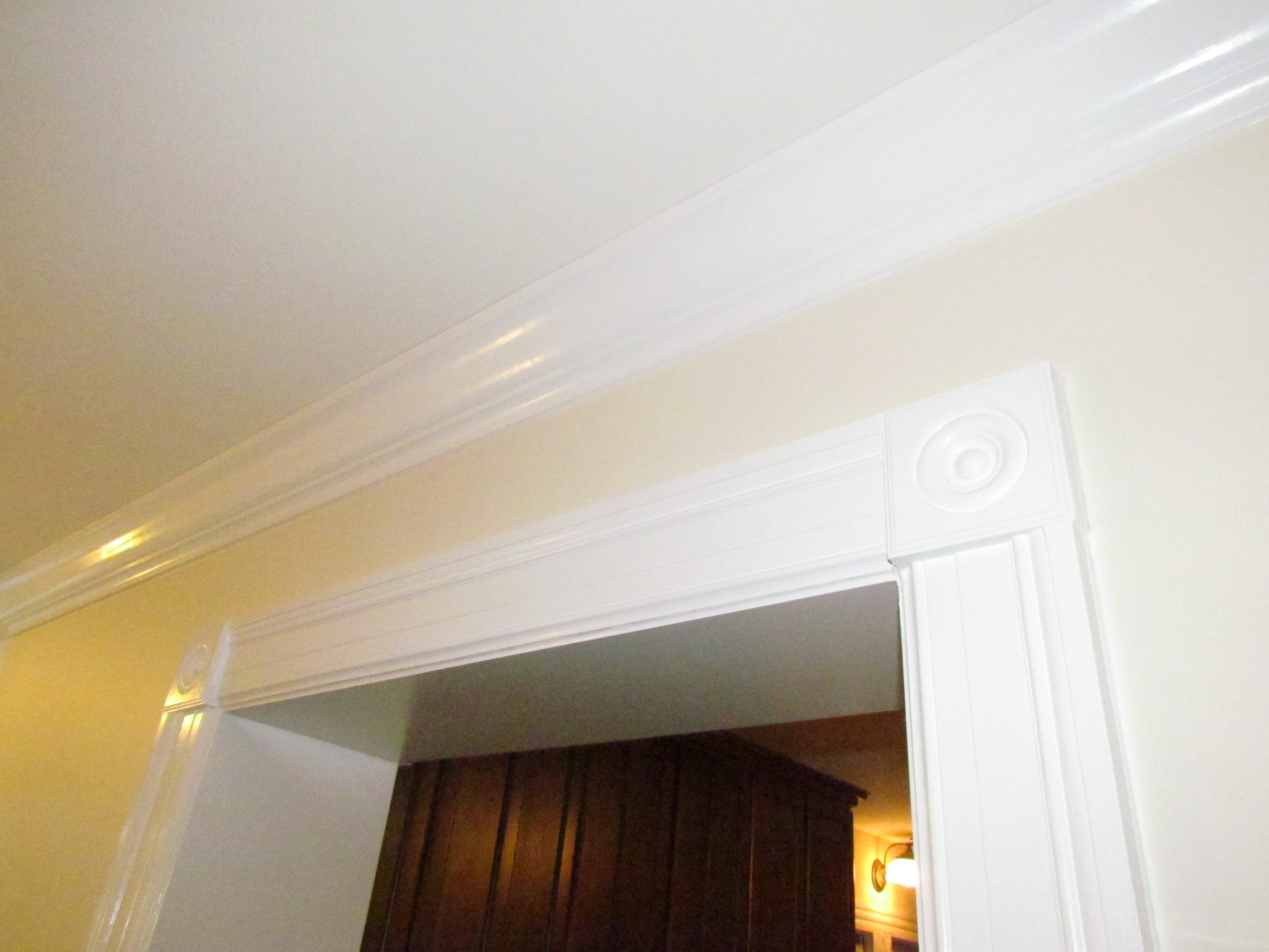 Historic Addition doorway trim