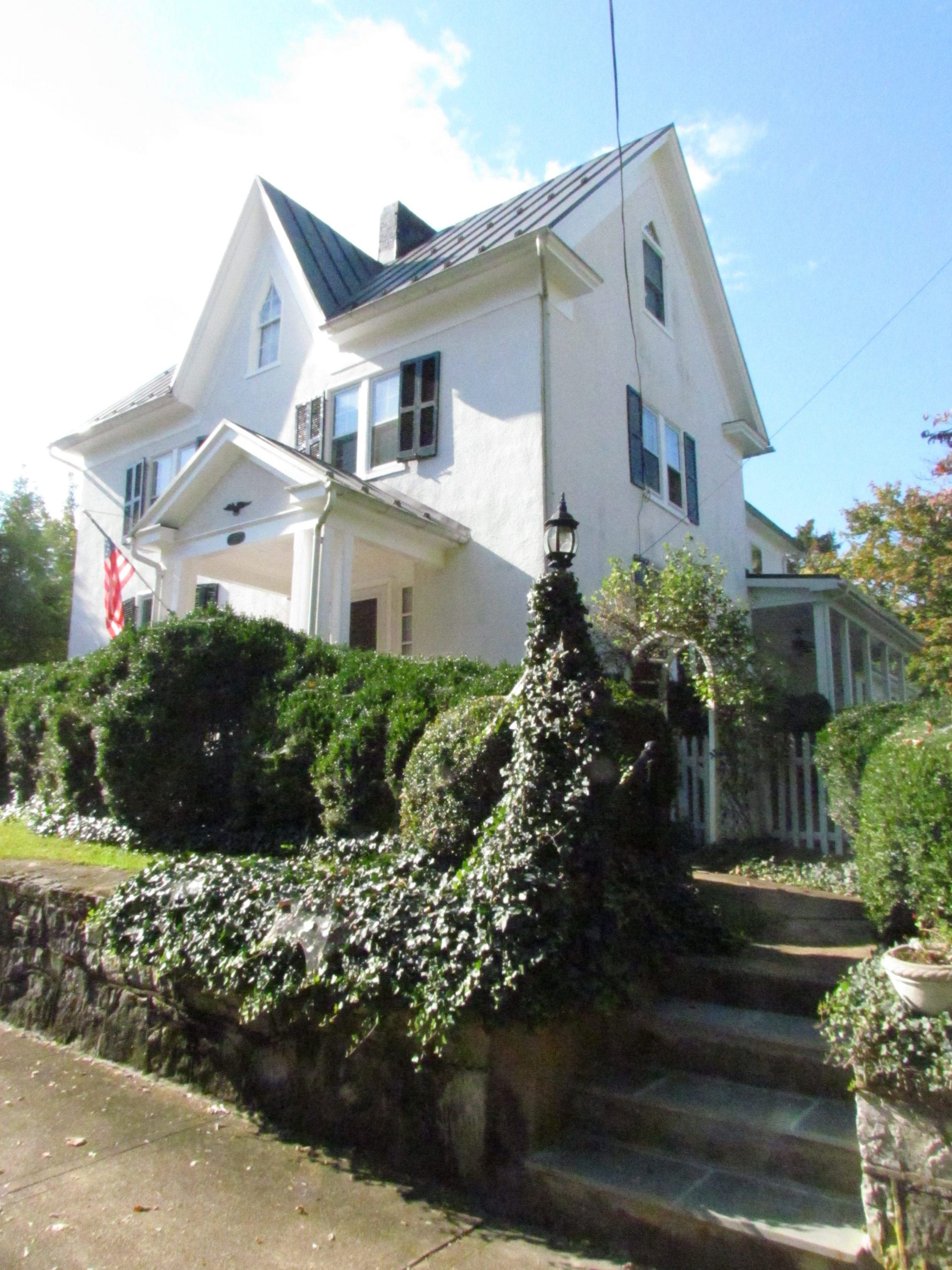 Historic Addition front steps