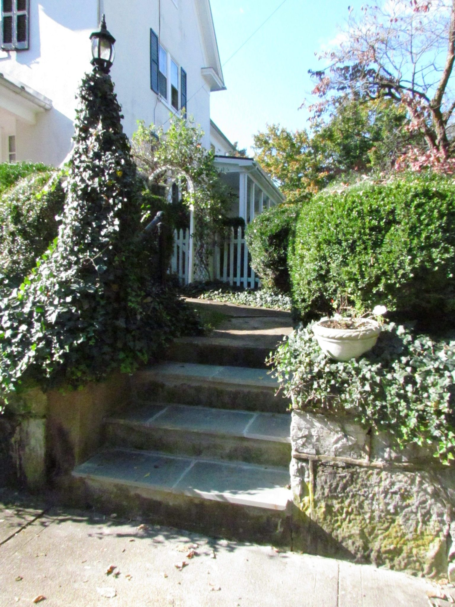 Historic Addition stairs
