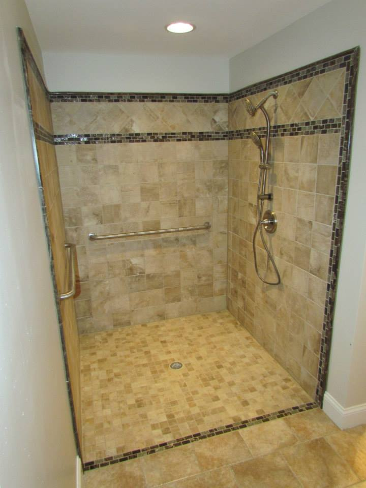 ADA Compliant Bathroom shower