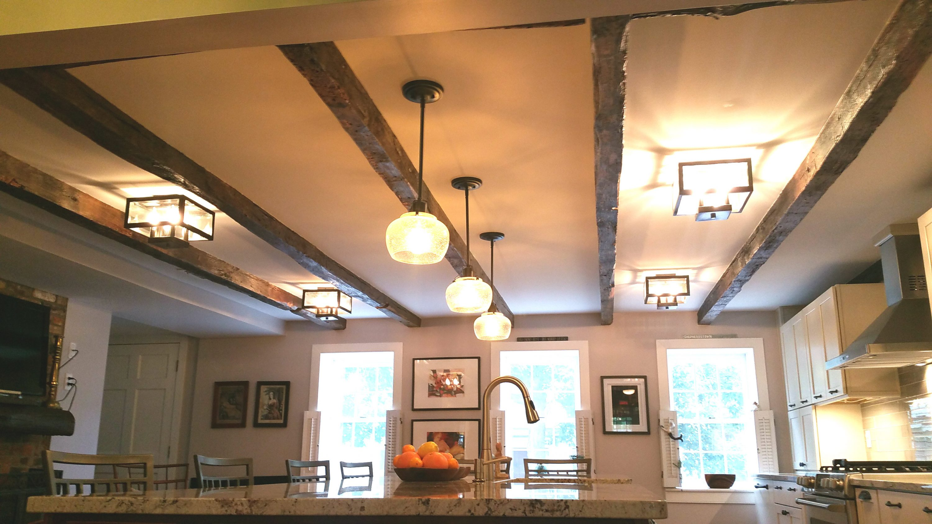 Award Winning Historic Renovation ceiling