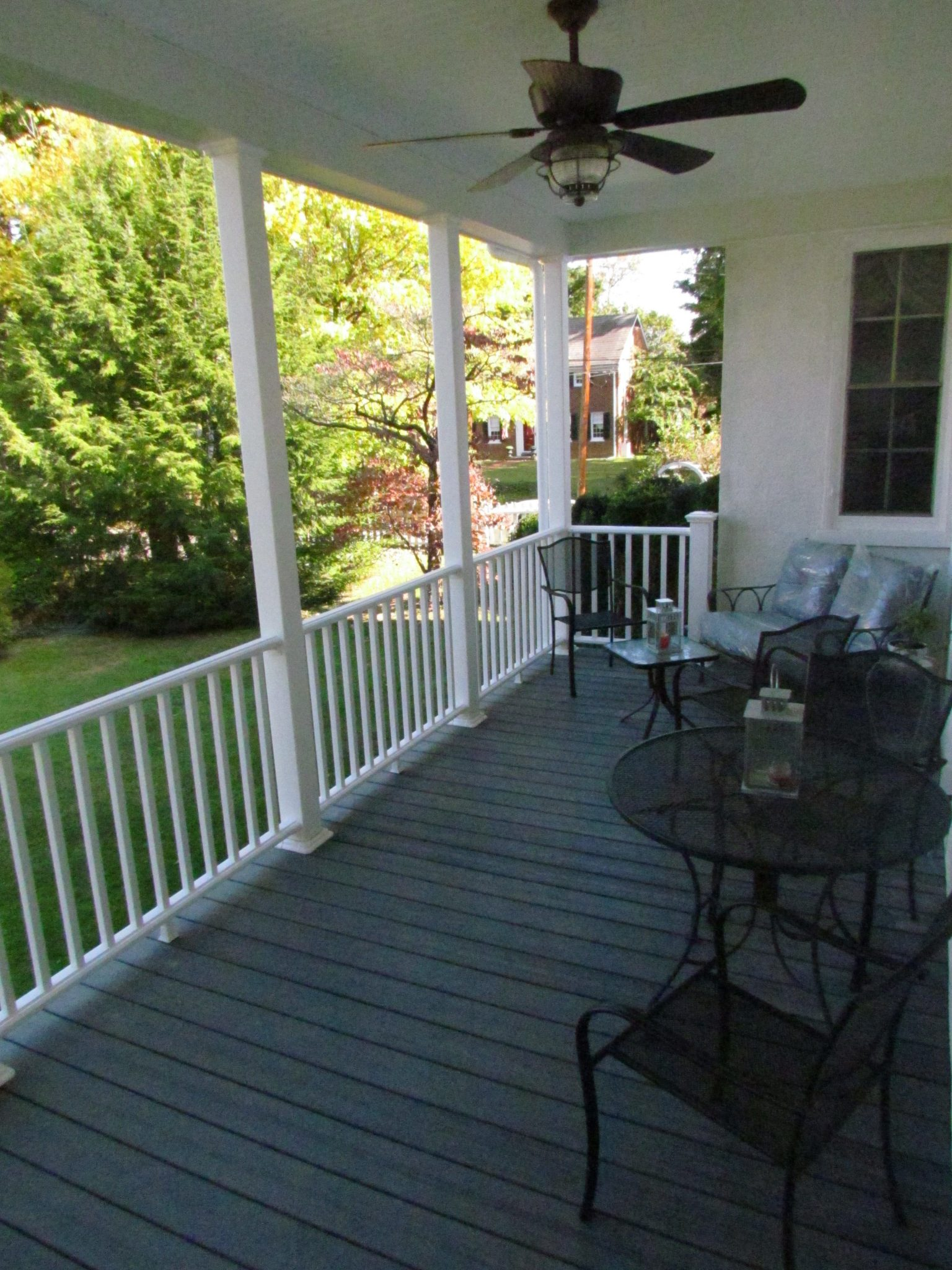 Historic Addition porch