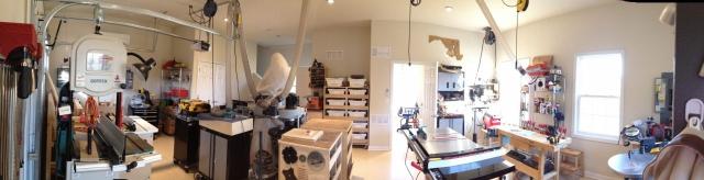 Award Winning In-Law Suite Garage interior
