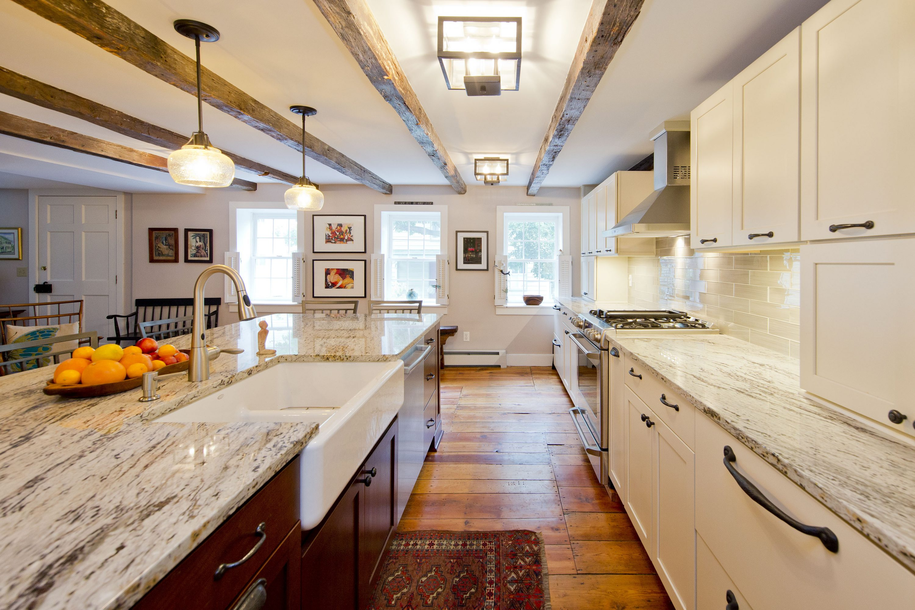 Award Winning Historic Renovation kitchen sink