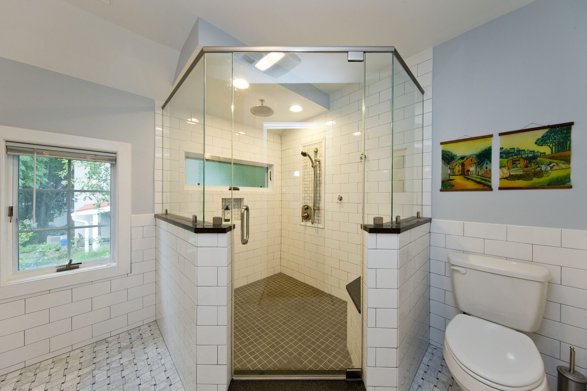 Award Winning Historic Renovation bathroom shower