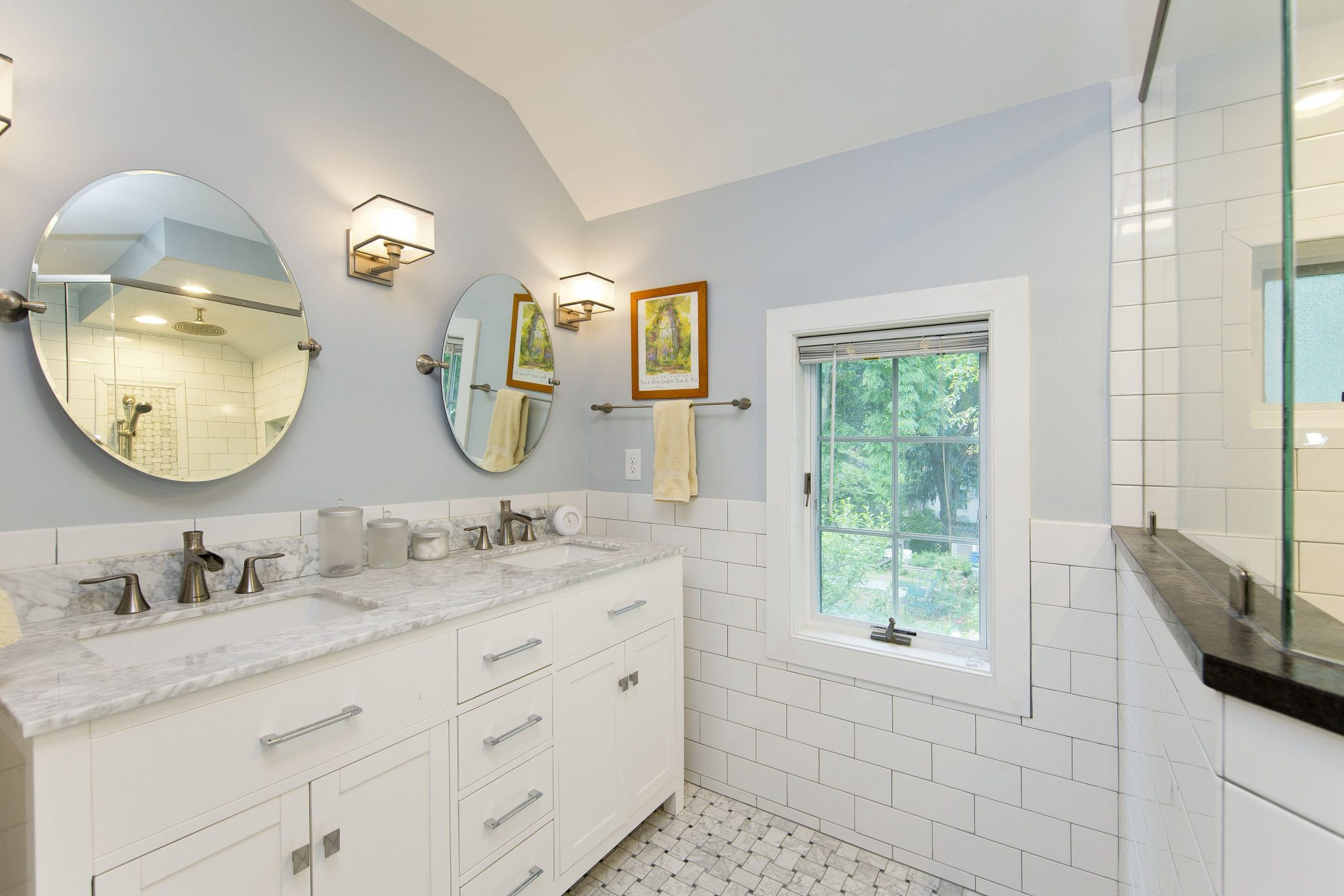 Award Winning Historic Renovation bathroom