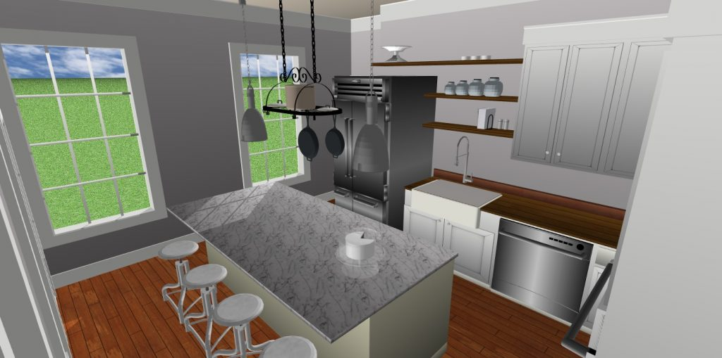 JC Smith Design 3d rendering