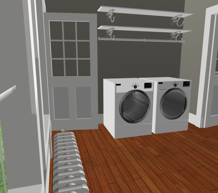 JC Smith Design laundry 3d model
