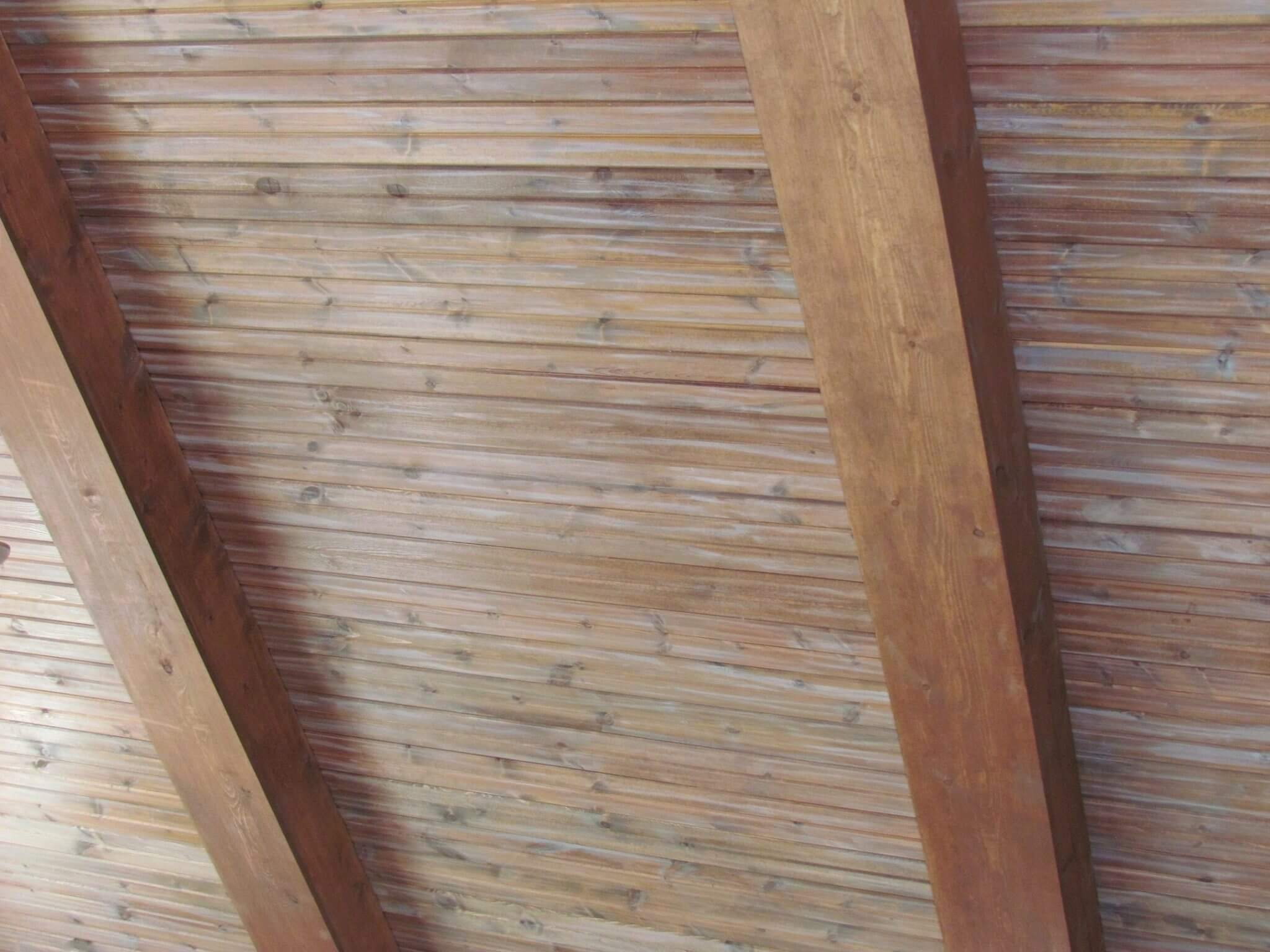 Cedar Siding Custom Home ceiling
