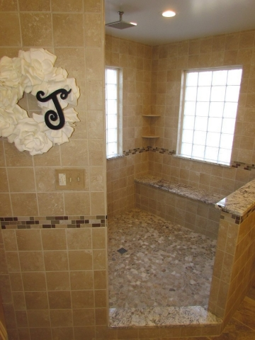 A Master's Bathroom shower