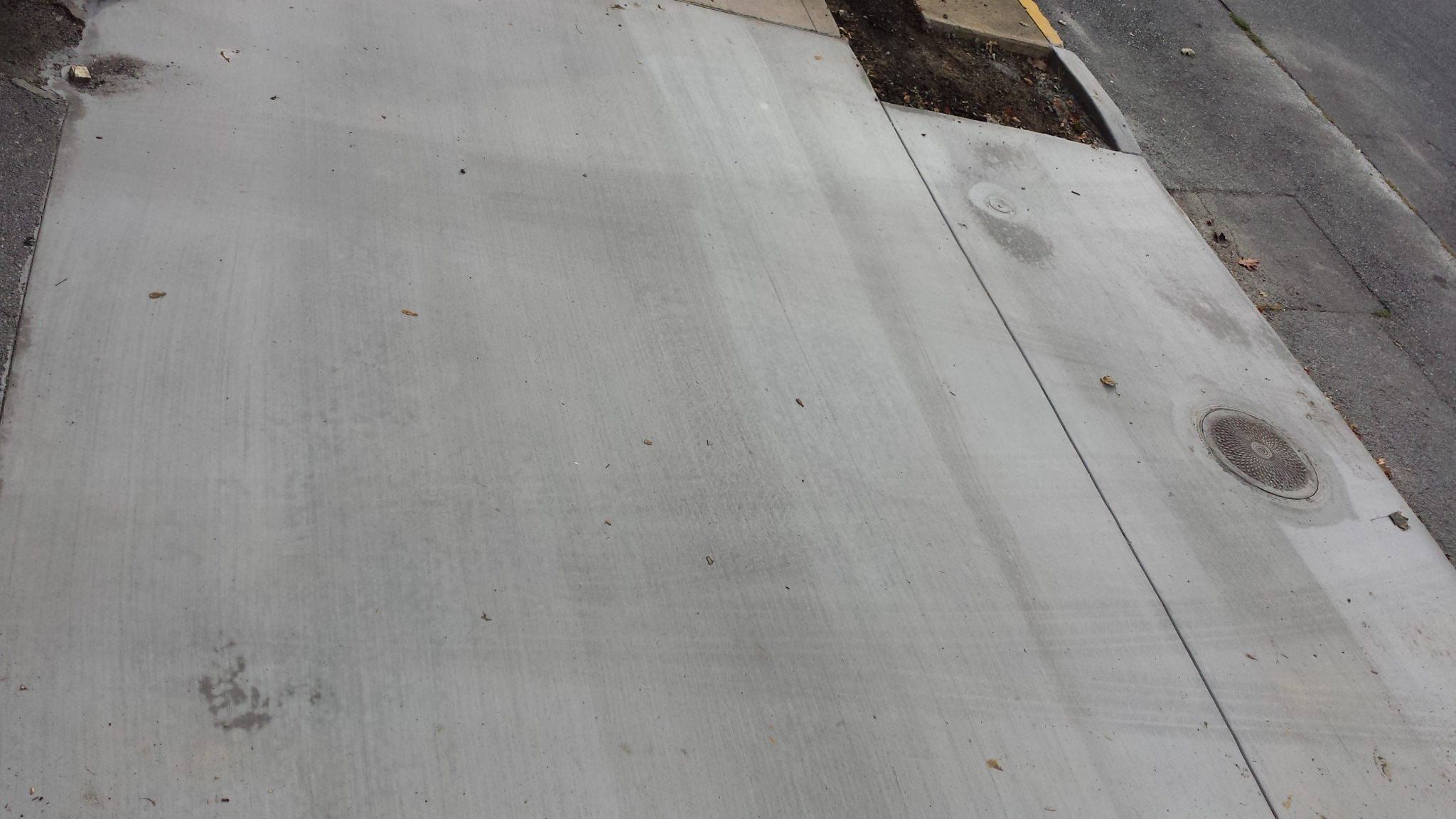 City, Commercial Parking Lot concrete