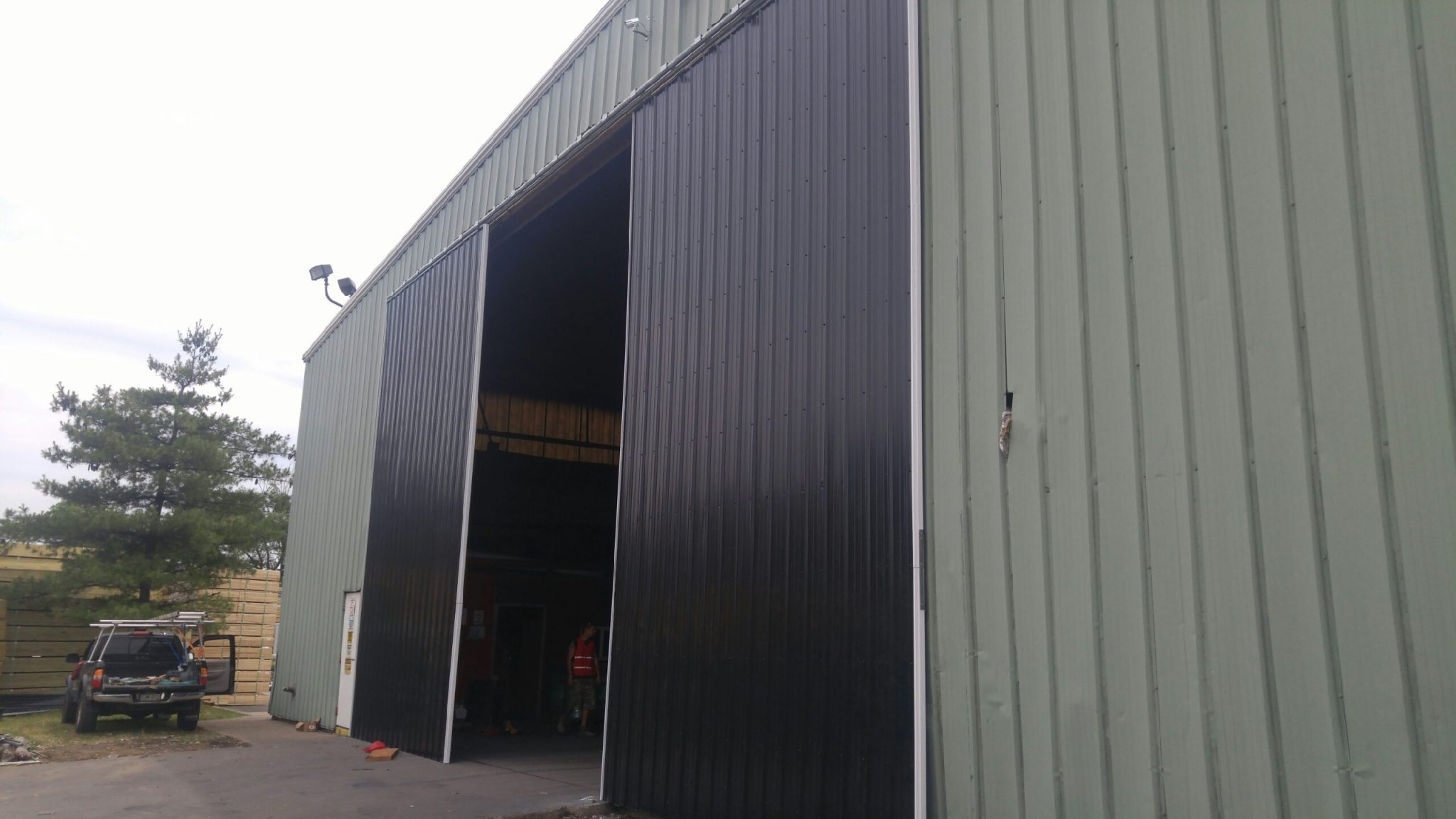 Steel Sliding Door