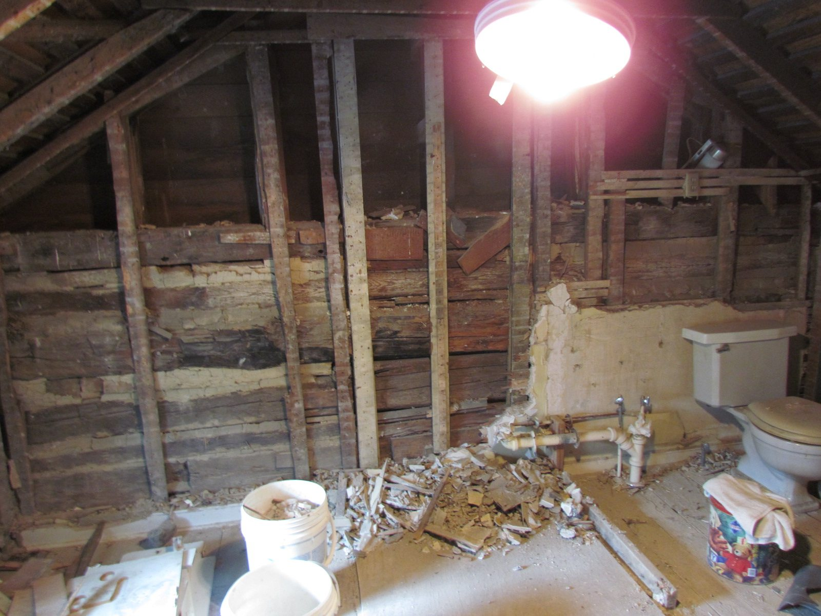 Historic Renovation Before And After bathroom before