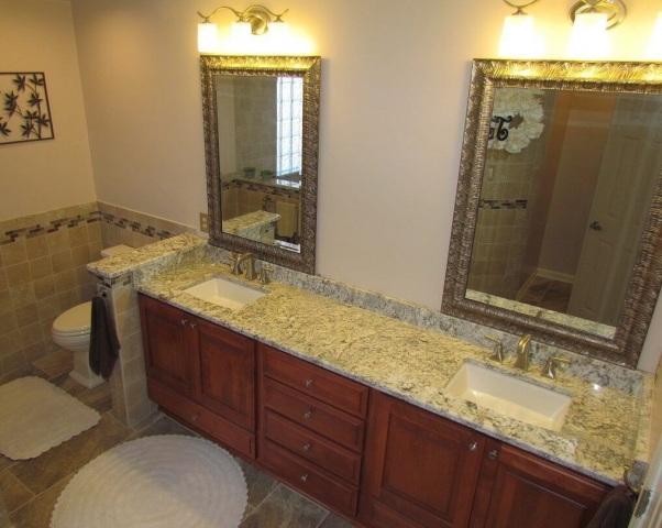 A Master's Bathroom sinks