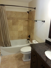 Finished Basement, Bedrooms With Egress Windows, And Upgrades bathroom