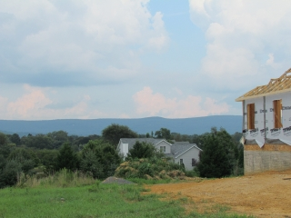 Primrose Custom Home mountain view