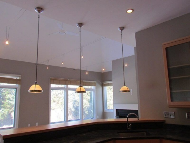 CC Renovation hanging lights