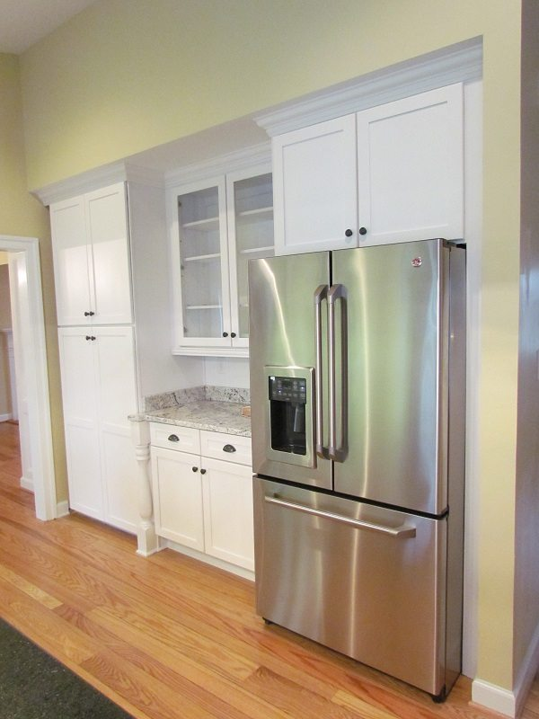 Complete Professionally Designed Renovation fridge