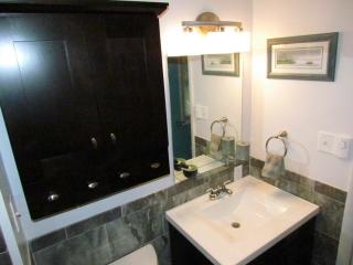 Bathroom Renovation sink and cabnet