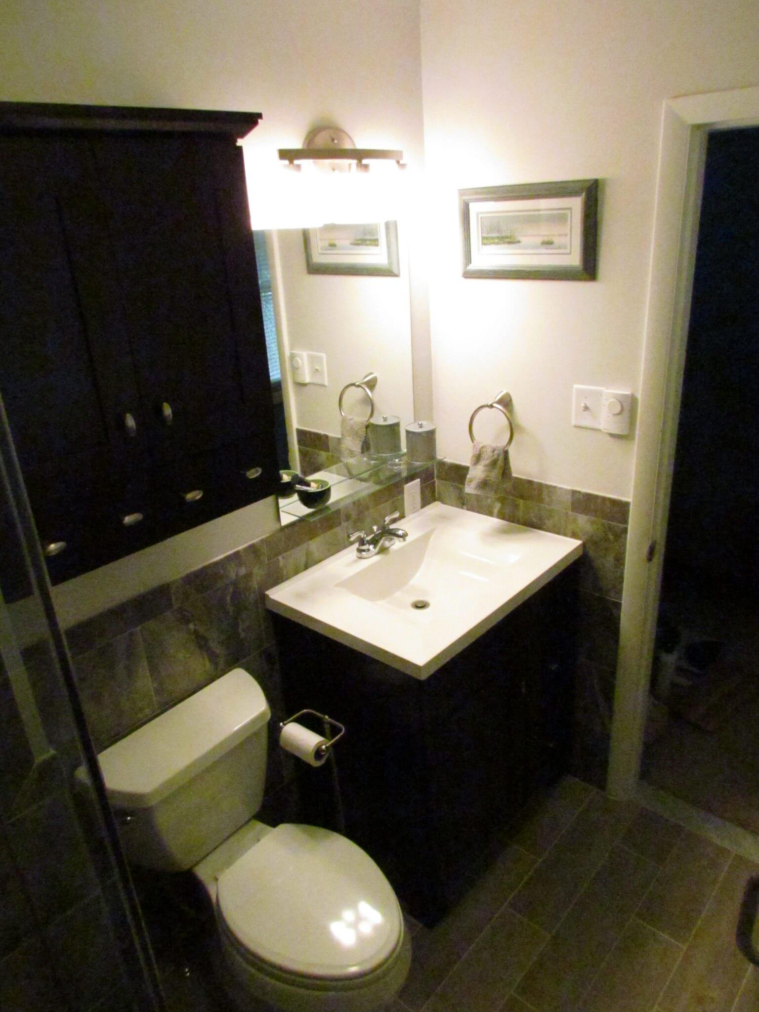 Bathroom Renovation toilet