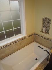 Master Bathroom En Suite bathtub with window