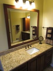 Master Bathroom En Suite second sink