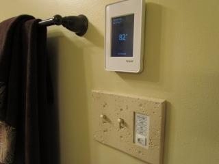 Master Bathroom En Suite light switch