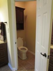 Master Bathroom En Suite toilet