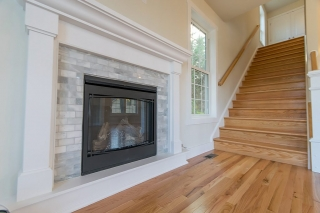 Charlestown Sheridan fireplace and stairs