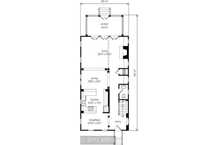 Charlestown Sheridan lower level floor plan