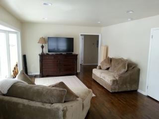 Fire Restoration After living room