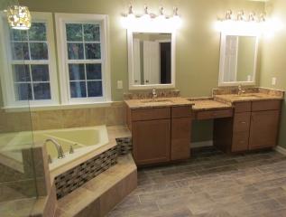 Master Bathroom Renovation vanities