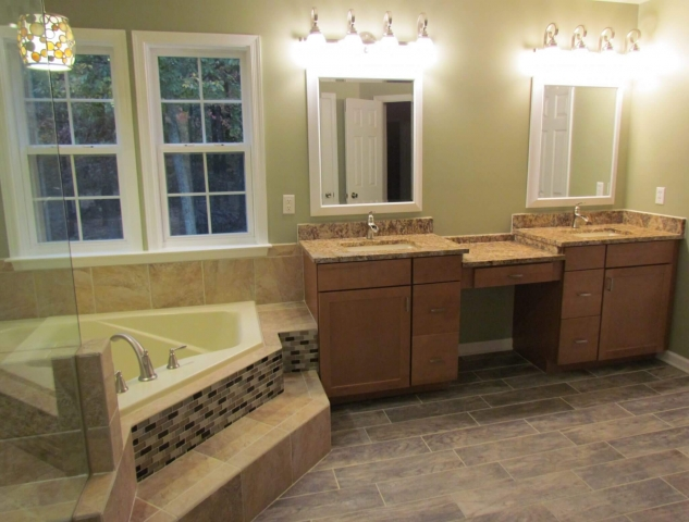 Master Bathroom Renovation vanities