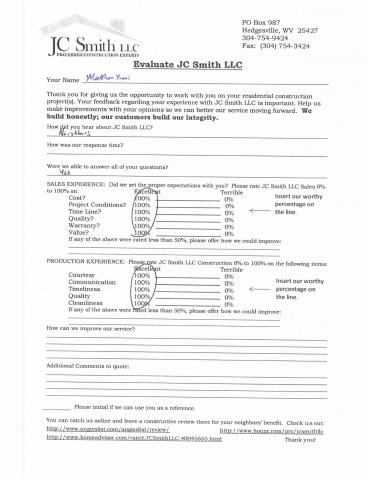 JC Smith Evaluation 29