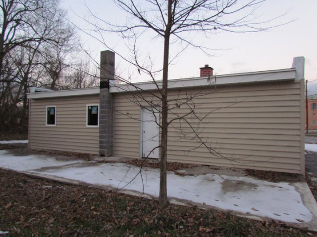 Small Commercial Building Exterior after