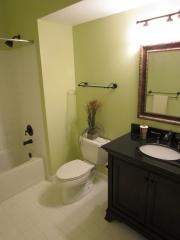 Disaster Restoration - Basement bathroom