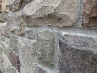 Primrose Custom Home brick facing