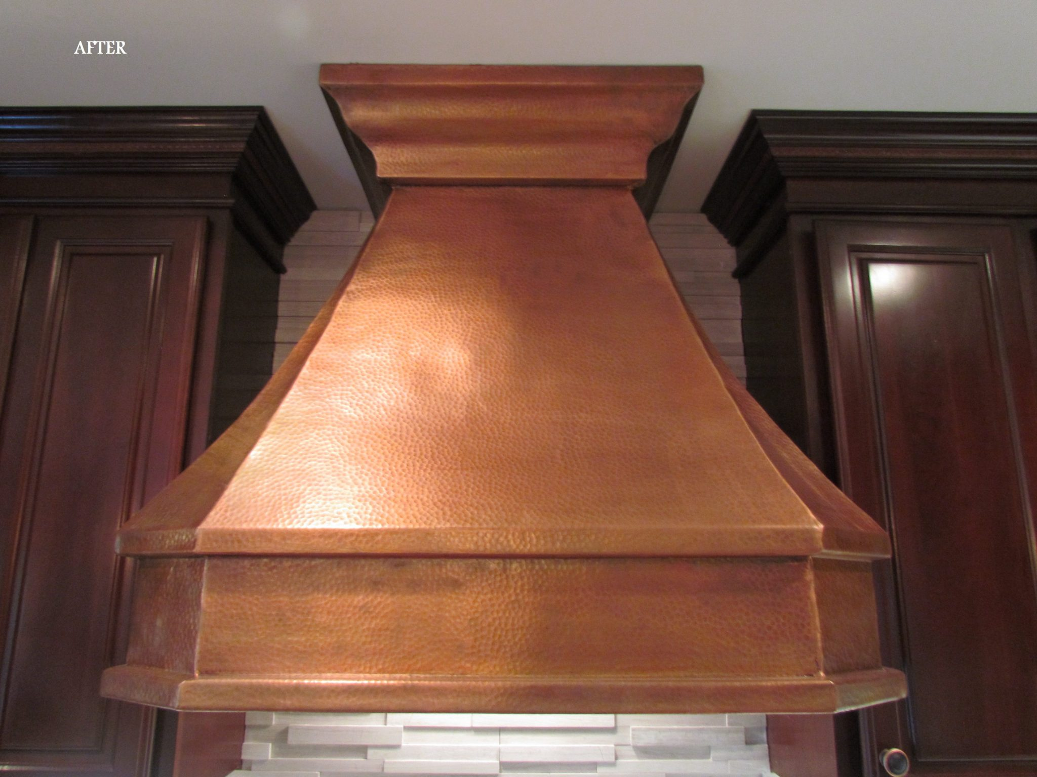 Main Level Modern Updates range hood