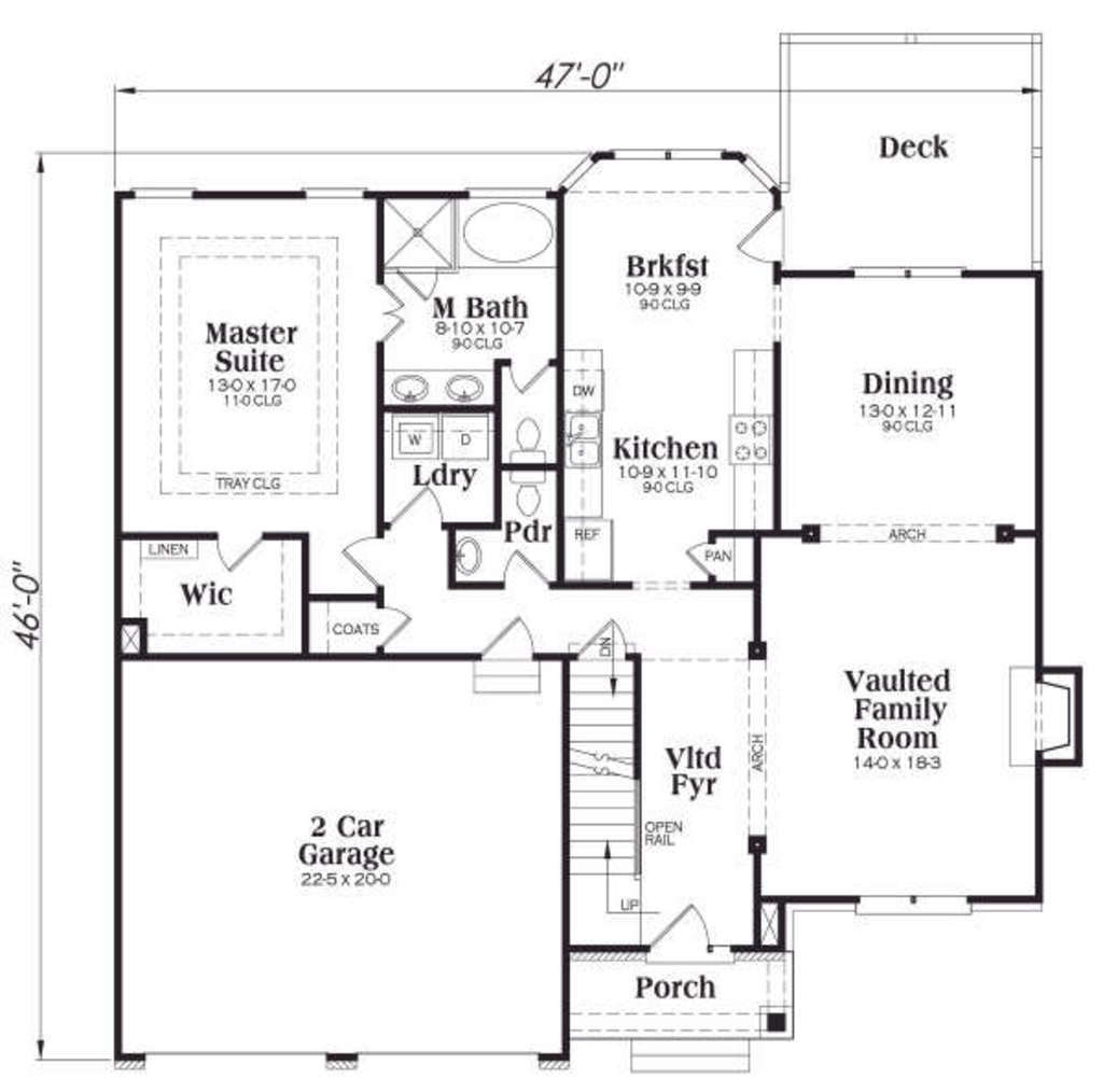 Custom Home - To Be Built lower level