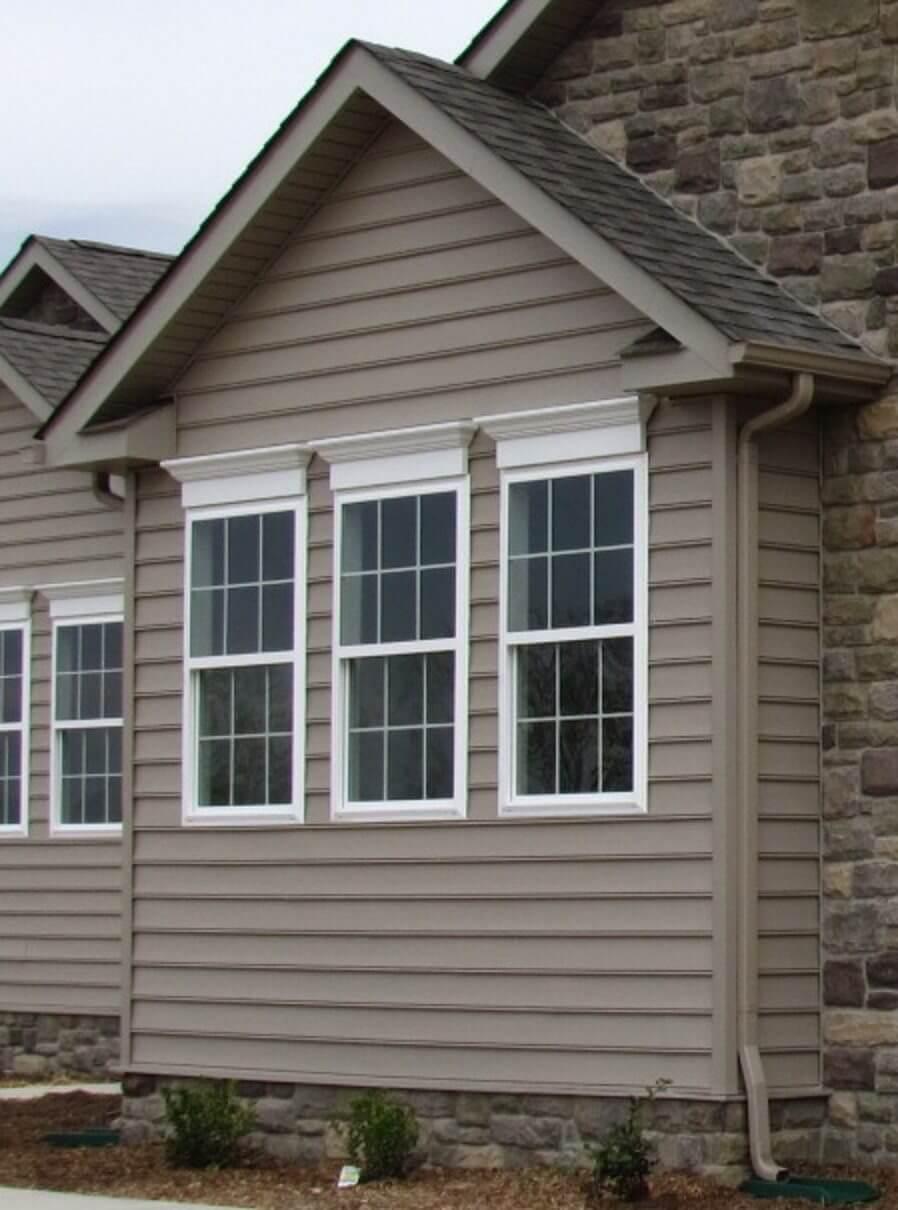 Primrose Custom Home front window