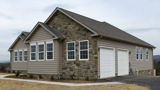 Primrose Custom Home front and side