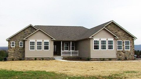 Primrose Custom Home front view