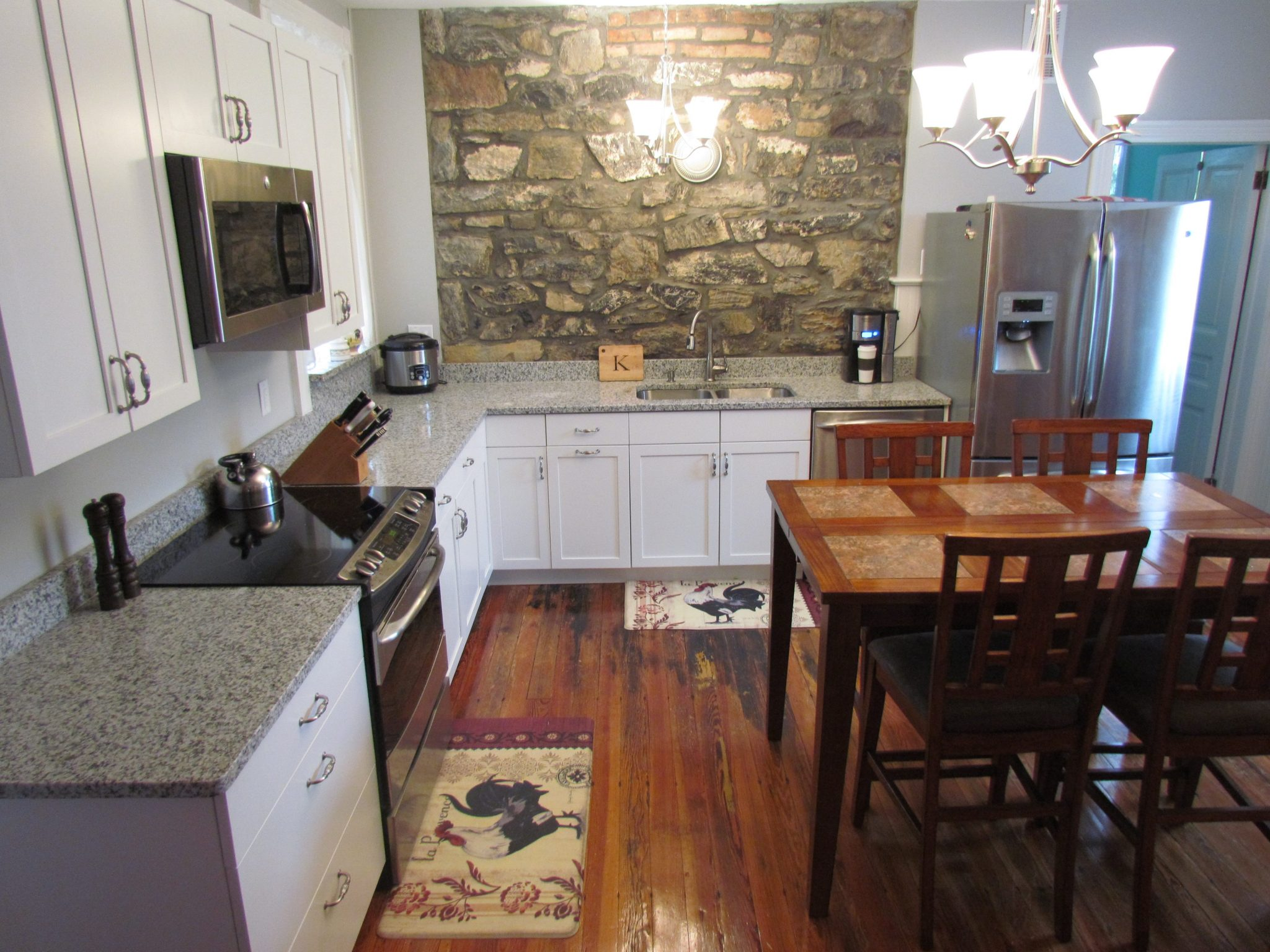 Historic Kitchen Renovation And Accommodation after left