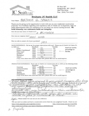 JC Smith Evaluation 15