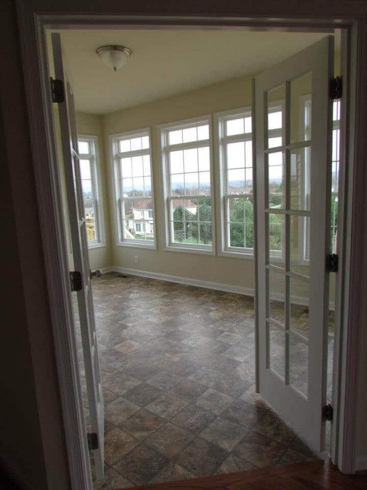 Primrose Custom Home front room