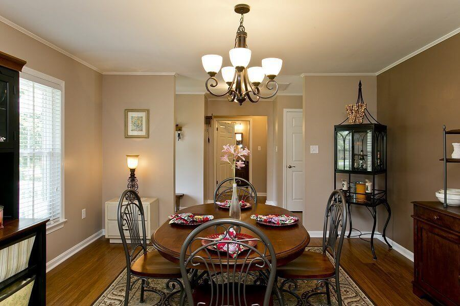 Award Winning Renovation dining room