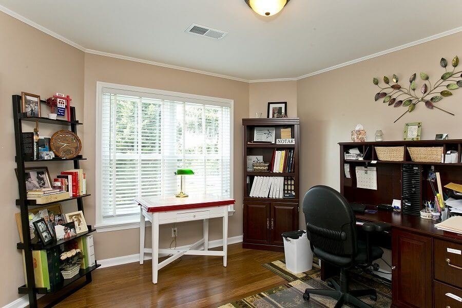 Award Winning Renovation office