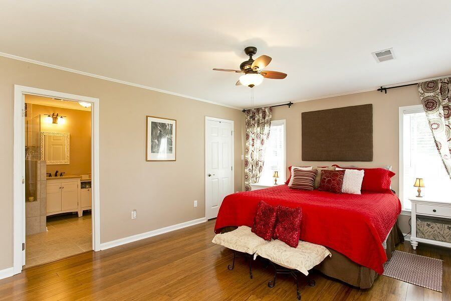 Award Winning Renovation bedroom and bathroom