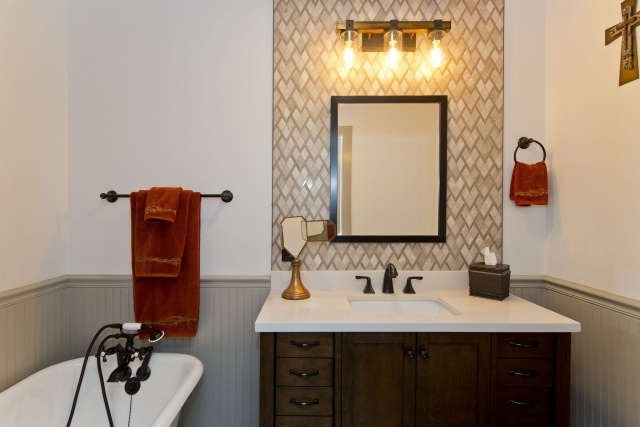 Professional Designer Home Renovation bathroom vanity