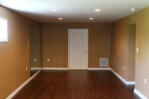 Finished Basement with Hardwood Floors main image